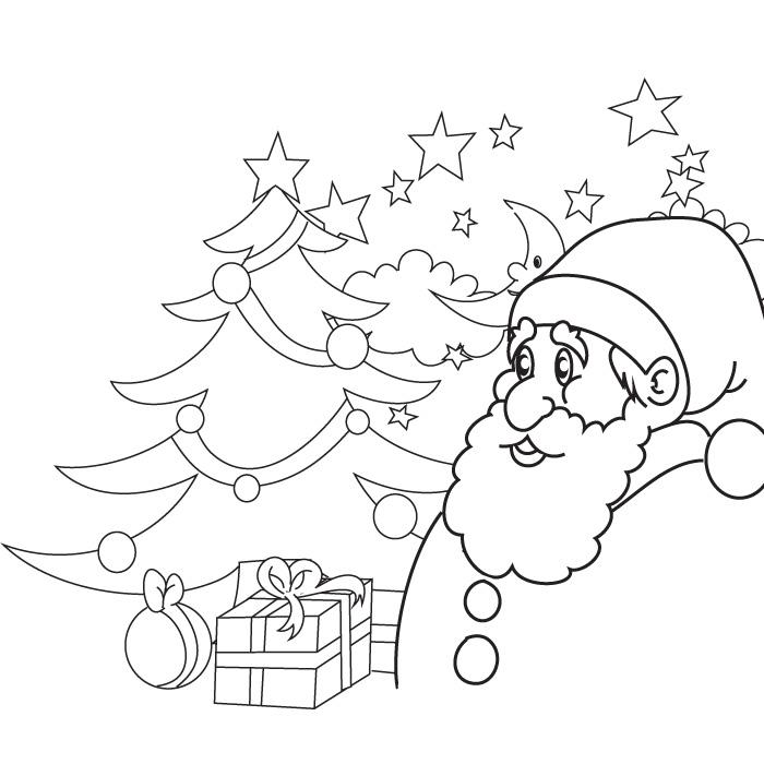 coloring christmas