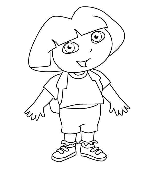 Drawing Pictures Dora