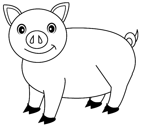 Candyland Coloring Pages Free Printables For Kids further Octopus Coloring Pages also Pig Animal Coloring Pages 18 711968 moreover Dibujos De Porky El Cerdito Para also Daisy Duck Coloring Pages. on cute little pigs