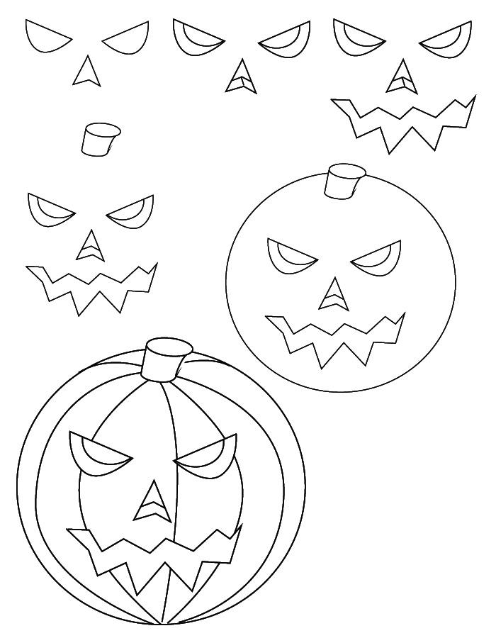 drawing halloween - Halloween Line Drawings