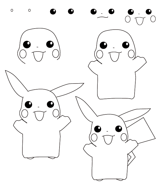 Pokemon Jigglypuff Drawing How to Draw a Pokemon With