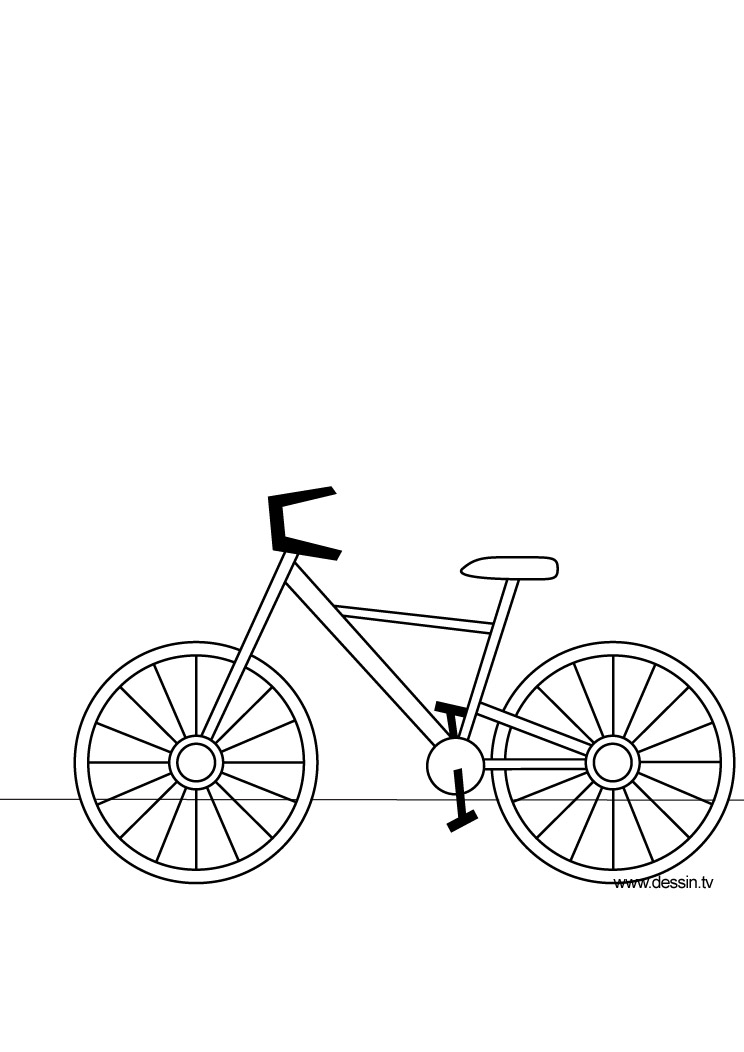 coloring pages of bikes - photo#13