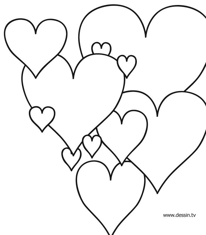 Coloring Picture Heart : Coloring heart