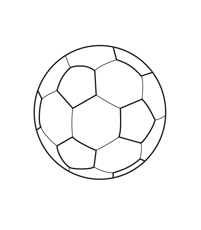 How to draw soccer ball car interior design for Soccer balls coloring pages