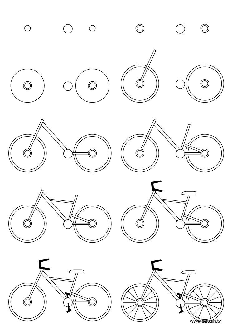 httpwwwthedrawbotcomfiles201104drawing bicyclejpg art pinterest bicycling drawings and doodles