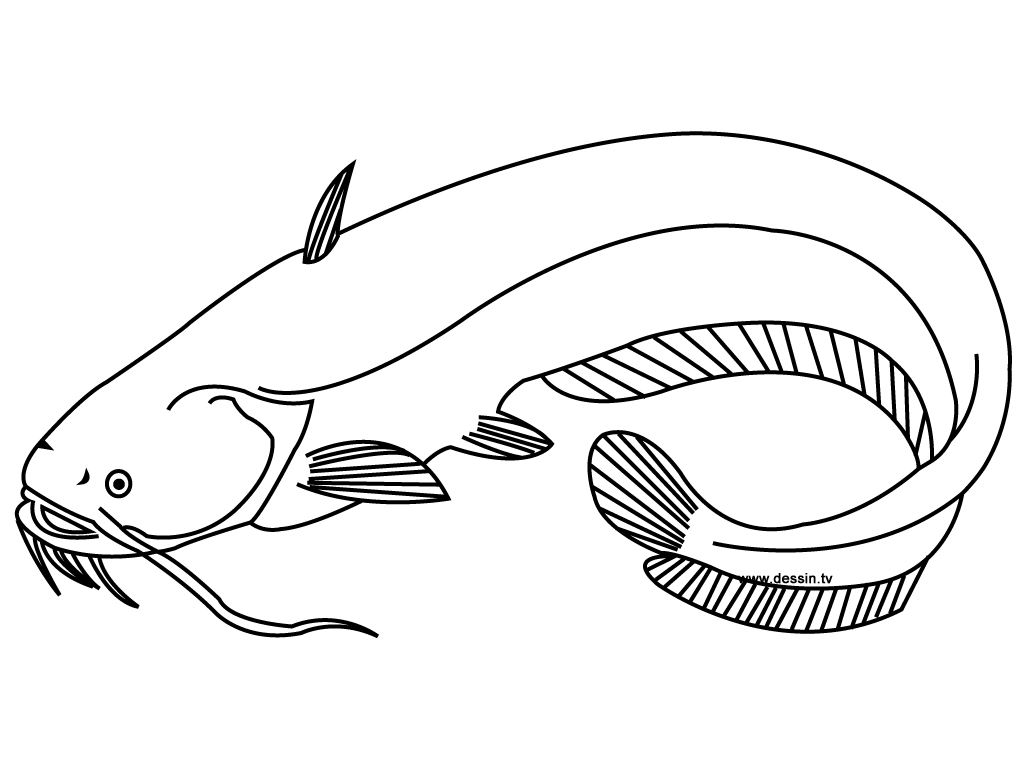 Free Fish Mosaic Coloring Pages