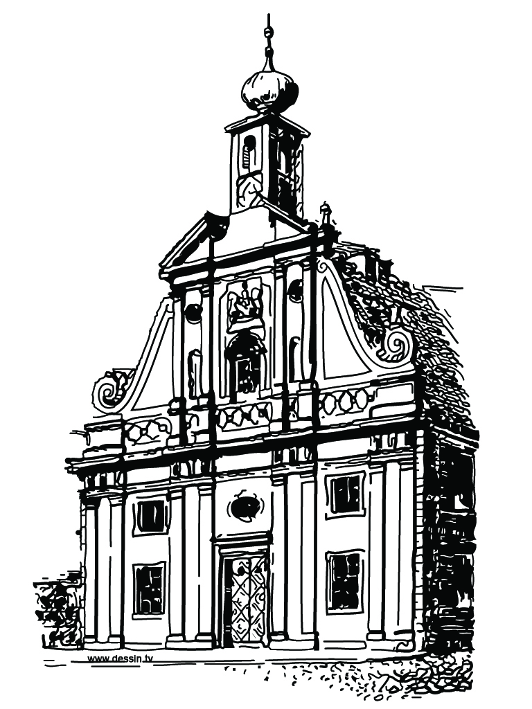 church building coloring pages - photo#27