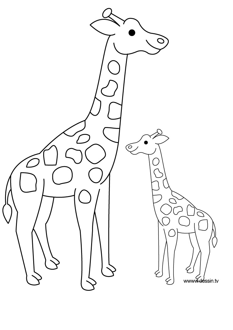 Free savanna animals coloring pages - Animal dessin ...