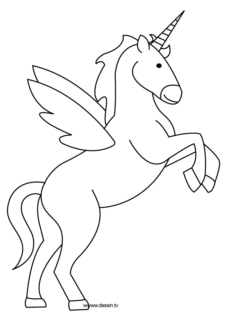 free printable how to draw a unicorn