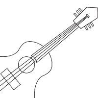 Drawing Guitar furthermore Silver Desk L  15544155 as well How To Read A Chord Diagram 2 also Hand Drill further 2133 Jim Beam Decals. on electric black