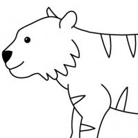 Coloring tiger