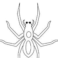 Coloring spider