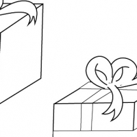 Drawing Christmas gift