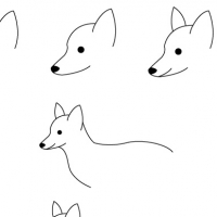 Drawing fox
