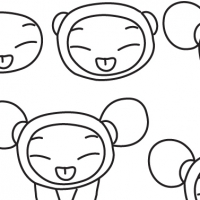 Drawing Pucca