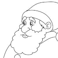Coloring Santa Claus