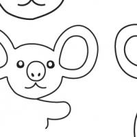 Drawing koala