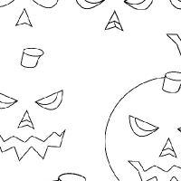 Drawing pumpkin