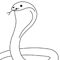 Coloring cobra