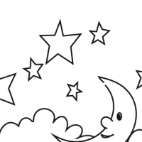 Coloring stars