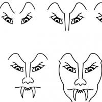 Drawing vampire